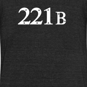 221b Baker Street 2 - Unisex Tri-Blend T-Shirt by American Apparel
