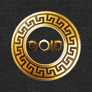 gold_mixes_logo - Unisex Tri-Blend T-Shirt by American Apparel