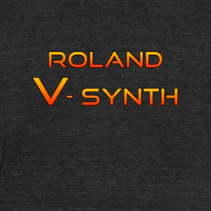 Roland V-Synth Colorful - Unisex Tri-Blend T-Shirt by American Apparel