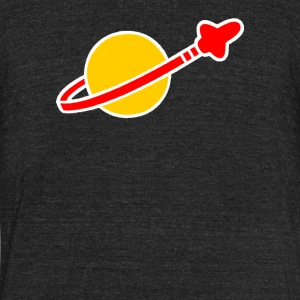 Vintage Lego Space - Unisex Tri-Blend T-Shirt by American Apparel