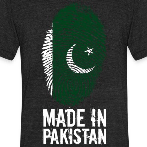 Made in Pakistan پاکستان - Unisex Tri-Blend T-Shirt by American Apparel