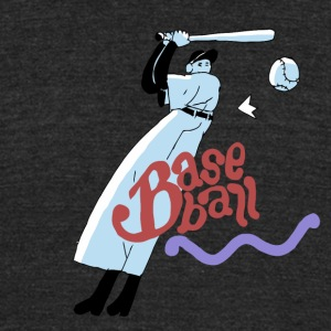 baseball_boy - Unisex Tri-Blend T-Shirt by American Apparel