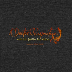 A Doctor's Perspective Podcast Logo - Unisex Tri-Blend T-Shirt by American Apparel