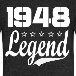 48 Legend - Unisex Tri-Blend T-Shirt by American Apparel