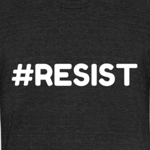 #RESIST Online Designs The Protestor - Unisex Tri-Blend T-Shirt by American Apparel