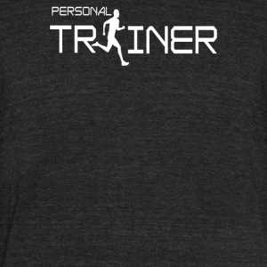 Personal Trainer Fitness - Unisex Tri-Blend T-Shirt by American Apparel