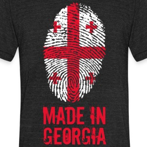 Made in Georgia / საქართველო - Unisex Tri-Blend T-Shirt by American Apparel