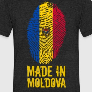 Made in Moldova - Unisex Tri-Blend T-Shirt by American Apparel