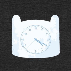 Adventure Clock - Unisex Tri-Blend T-Shirt by American Apparel