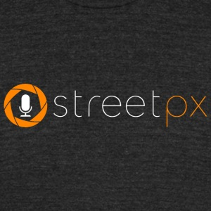 Official StreetPX Tee - Unisex Tri-Blend T-Shirt by American Apparel