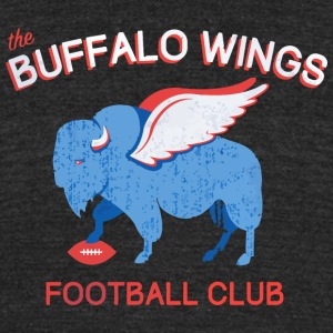 Buffalo Wings - Unisex Tri-Blend T-Shirt by American Apparel