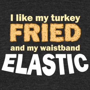 Fried Turkey - Unisex Tri-Blend T-Shirt by American Apparel
