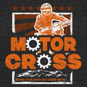 Motorcycles - Unisex Tri-Blend T-Shirt by American Apparel