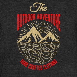 The outdoor adventure - Unisex Tri-Blend T-Shirt by American Apparel