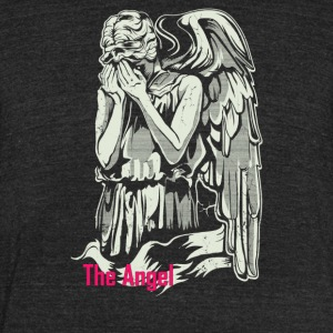 The Angel Weeping - Unisex Tri-Blend T-Shirt by American Apparel
