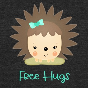 Free Hugs - Unisex Tri-Blend T-Shirt by American Apparel