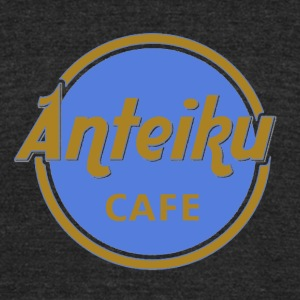 antaiku Cafe Shop - Unisex Tri-Blend T-Shirt by American Apparel