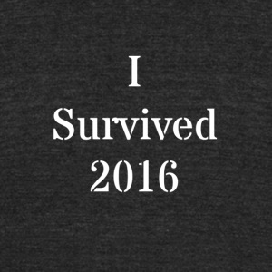 Survived 2016 - Unisex Tri-Blend T-Shirt by American Apparel