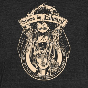 Styles By Edward - Unisex Tri-Blend T-Shirt by American Apparel
