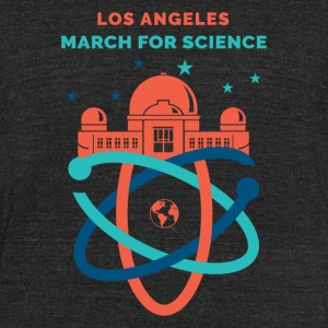 LA March for Science 2017 - Unisex Tri-Blend T-Shirt by American Apparel