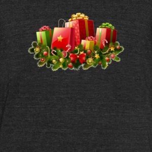 Christmas Gift 4 - Unisex Tri-Blend T-Shirt by American Apparel
