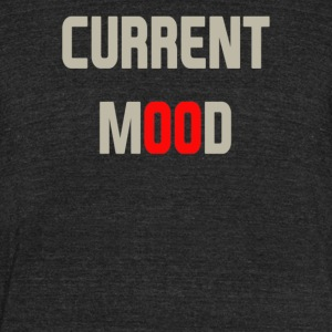 Current Mood - Unisex Tri-Blend T-Shirt by American Apparel