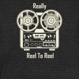 Really Reel To Reel - Unisex Tri-Blend T-Shirt by American Apparel