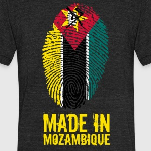 Made In Mozambique - Unisex Tri-Blend T-Shirt by American Apparel
