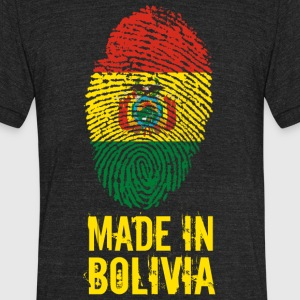 Made In Bolivia / Puliwya / Wuliwya - Unisex Tri-Blend T-Shirt by American Apparel