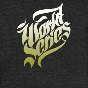 World series - Unisex Tri-Blend T-Shirt by American Apparel