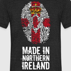 Made In Northern Ireland - Unisex Tri-Blend T-Shirt by American Apparel