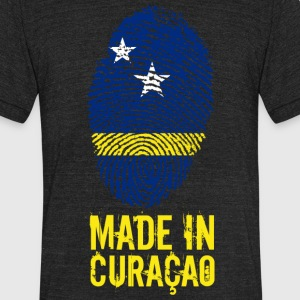 Made In Curaçao / Kòrsou - Unisex Tri-Blend T-Shirt by American Apparel