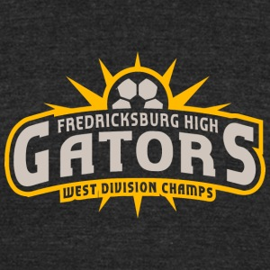 Fredricksburg High Gators West Division Champs - Unisex Tri-Blend T-Shirt by American Apparel