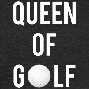 Queen of Golf - Unisex Tri-Blend T-Shirt by American Apparel
