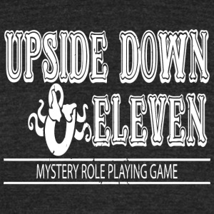 Upside Down and Eleven - Unisex Tri-Blend T-Shirt by American Apparel