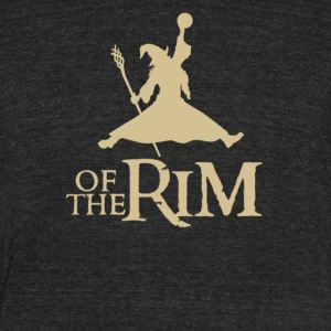 Of the rim - Unisex Tri-Blend T-Shirt by American Apparel