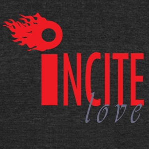 I Ncite Series love2 - Unisex Tri-Blend T-Shirt by American Apparel