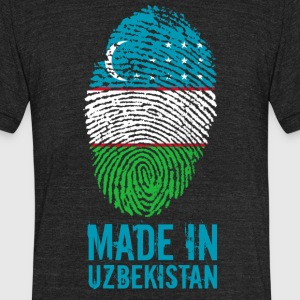 Made In Uzbekistan / Oʻzbekiston - Unisex Tri-Blend T-Shirt by American Apparel
