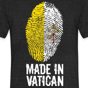 Made In Vatican / Pope / Catholicism / Christ - Unisex Tri-Blend T-Shirt by American Apparel
