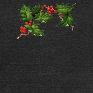 Christmas Elements 4 - Unisex Tri-Blend T-Shirt by American Apparel