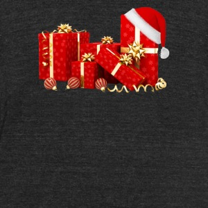 Christmas Gift - Unisex Tri-Blend T-Shirt by American Apparel