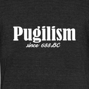 Pugilism Since 688 BC - Unisex Tri-Blend T-Shirt by American Apparel