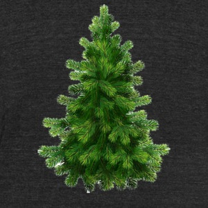 Christmas Nature - Unisex Tri-Blend T-Shirt by American Apparel