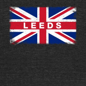 Leeds Shirt Vintage United Kingdom Flag T-Shirt - Unisex Tri-Blend T-Shirt by American Apparel