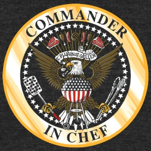 Commander in Chef - Unisex Tri-Blend T-Shirt by American Apparel