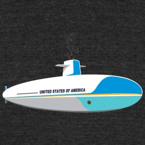 Submarine One - Unisex Tri-Blend T-Shirt by American Apparel