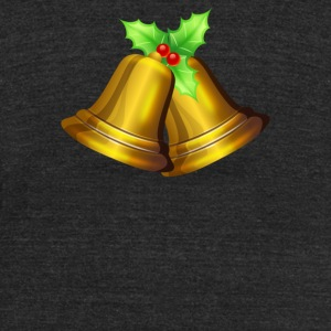 Christmas Bell 2 - Unisex Tri-Blend T-Shirt by American Apparel