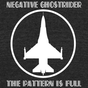 Negative ghostrider the pattern is full - Unisex Tri-Blend T-Shirt by American Apparel