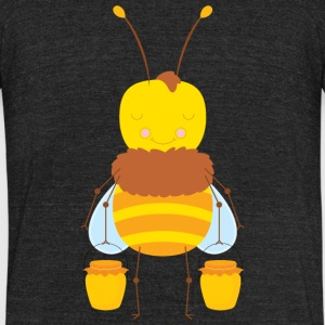 Funny workout bee t shirts | Honey Bee Tees - Unisex Tri-Blend T-Shirt by American Apparel