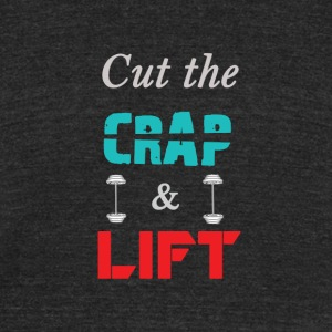 Cut_The_Crap - Unisex Tri-Blend T-Shirt by American Apparel